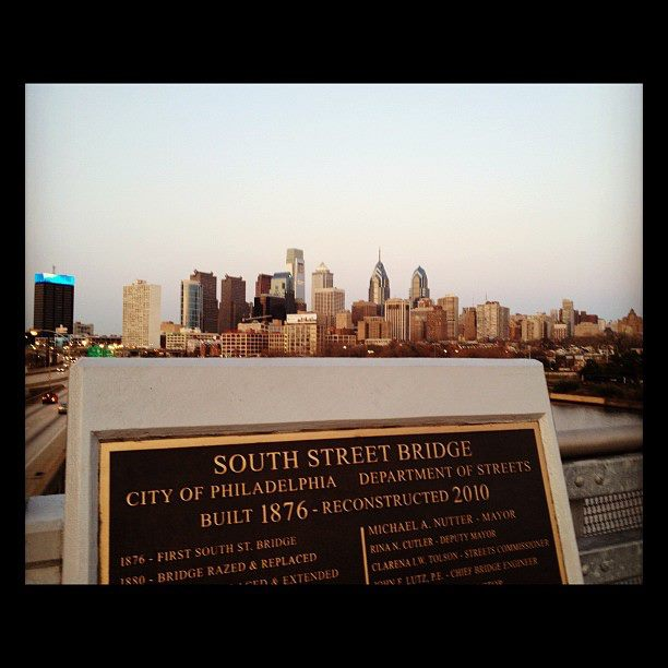 South Street Bridge In Philly
